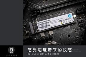 感受速度带来的快感HP EX950M.2图赏
