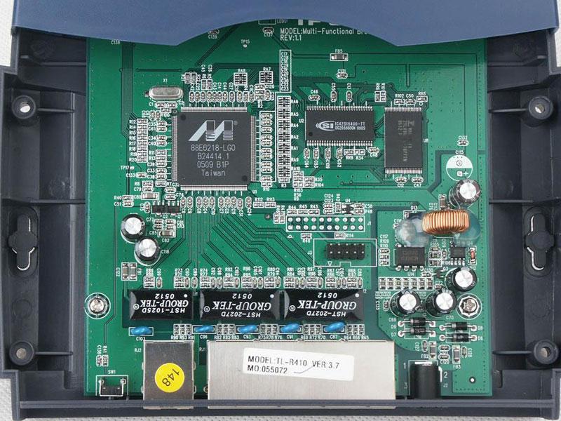 tp-link tl-r410 路由器产品外观与图解-zdnet