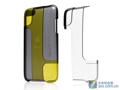 贝尔金 iPod touch3代 混色抗菌水晶壳(蓝/红/白)F8Z568qe101