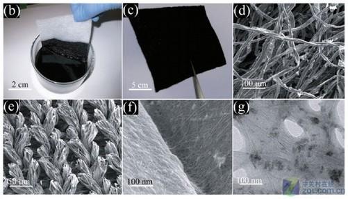 电子显微镜下的发电过程