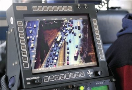 组图:北京警用直升机助阵清明安保