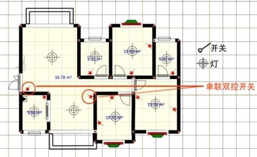 室内装修电路图