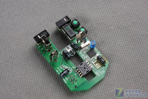 金刚狼w160无线鼠标 电路板