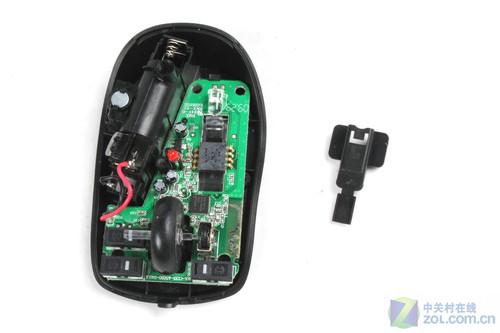 me700无线鼠标 电路板及光学引擎保护壳