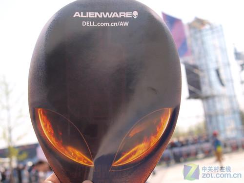 alienware標志性的外星人頭像