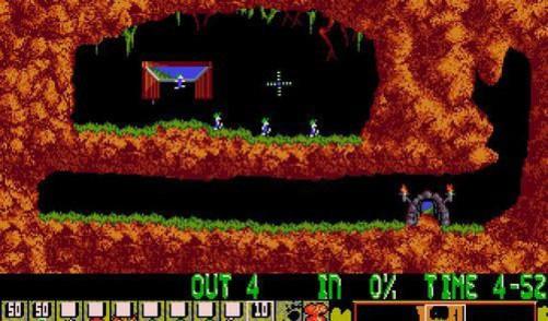 排名09 the lemmings(小旅鼠) 最早出现在:疯狂小旅鼠(1991) 代表