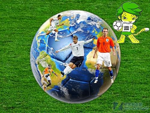 可牛影像DIY世界杯壁纸 为负伤球星祈福