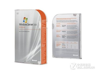 Microsoft windows 2008 server中文企业版25用户 HP OEM