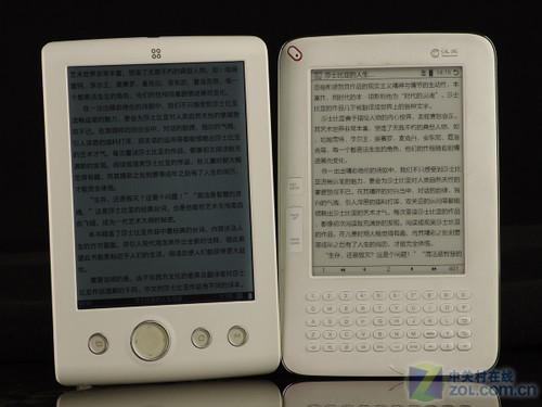 九款中端主流电子书横评之屏幕显示篇