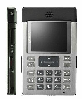 图为:三星P308手机-福布斯最酷小件三星P308挑战超薄极限