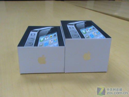区别很容易港版苹果iPhone4开箱上手_手机iP管红苹果图片