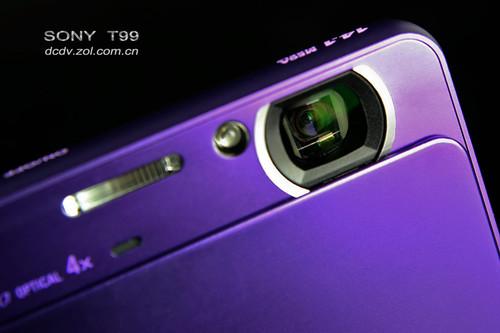 轻巧纤薄紫色诱惑 索尼T99细节图赏