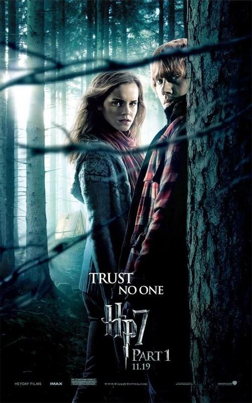 影迷必看 哈利波特与死亡圣器新海报