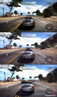 极品飞车:热力追踪三大平台画面大PK