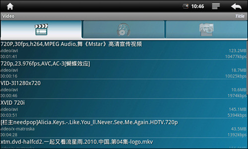 高清小霸王!昂达VX580R玩转Android影音篇