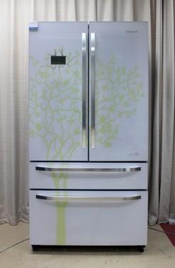 法式浪漫风 卡萨帝对开门冰箱图赏