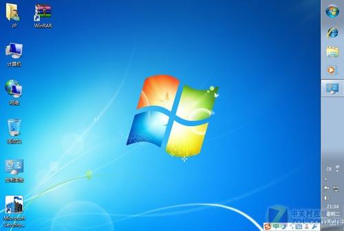 Windows7右侧任务栏-量身定制Windows 7 实现个性化桌面