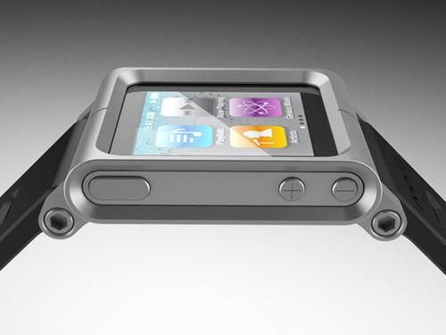 新iPod Nano摇身一变成炫丽腕表