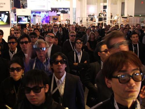 CES:索尼全线3D新品展示 震撼全场!