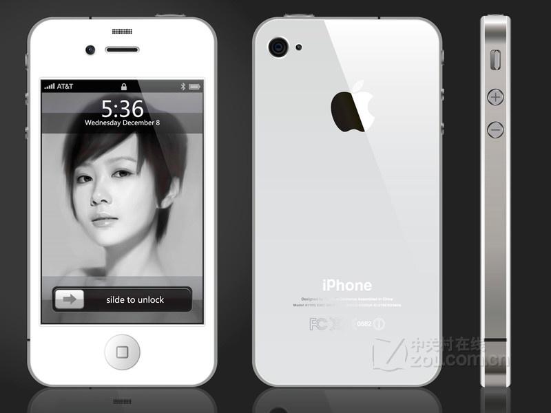 苹果iphone 4(16gb/白色)