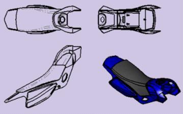 CAD方向:中望3D自定义视图图纸功教程的鲁班球球形图片