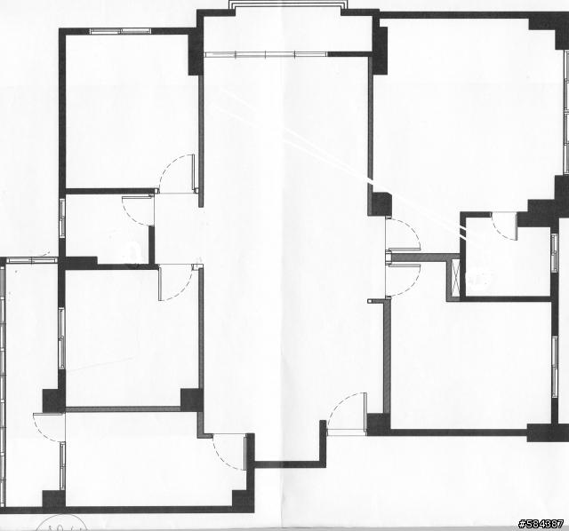 房屋结构图——面积较大