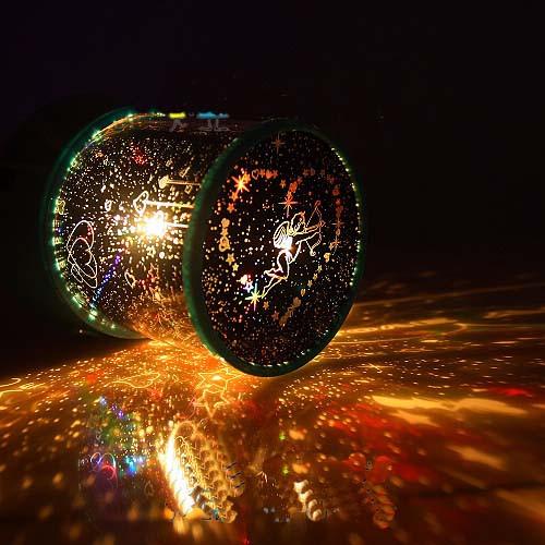 星空投影灯投射效果   不要以为只要晚上头往上仰,星星就唾手可得.