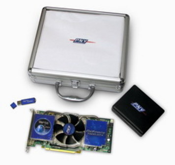 PNY 7900GTX 显卡-PNY盛装亮相台北电脑展