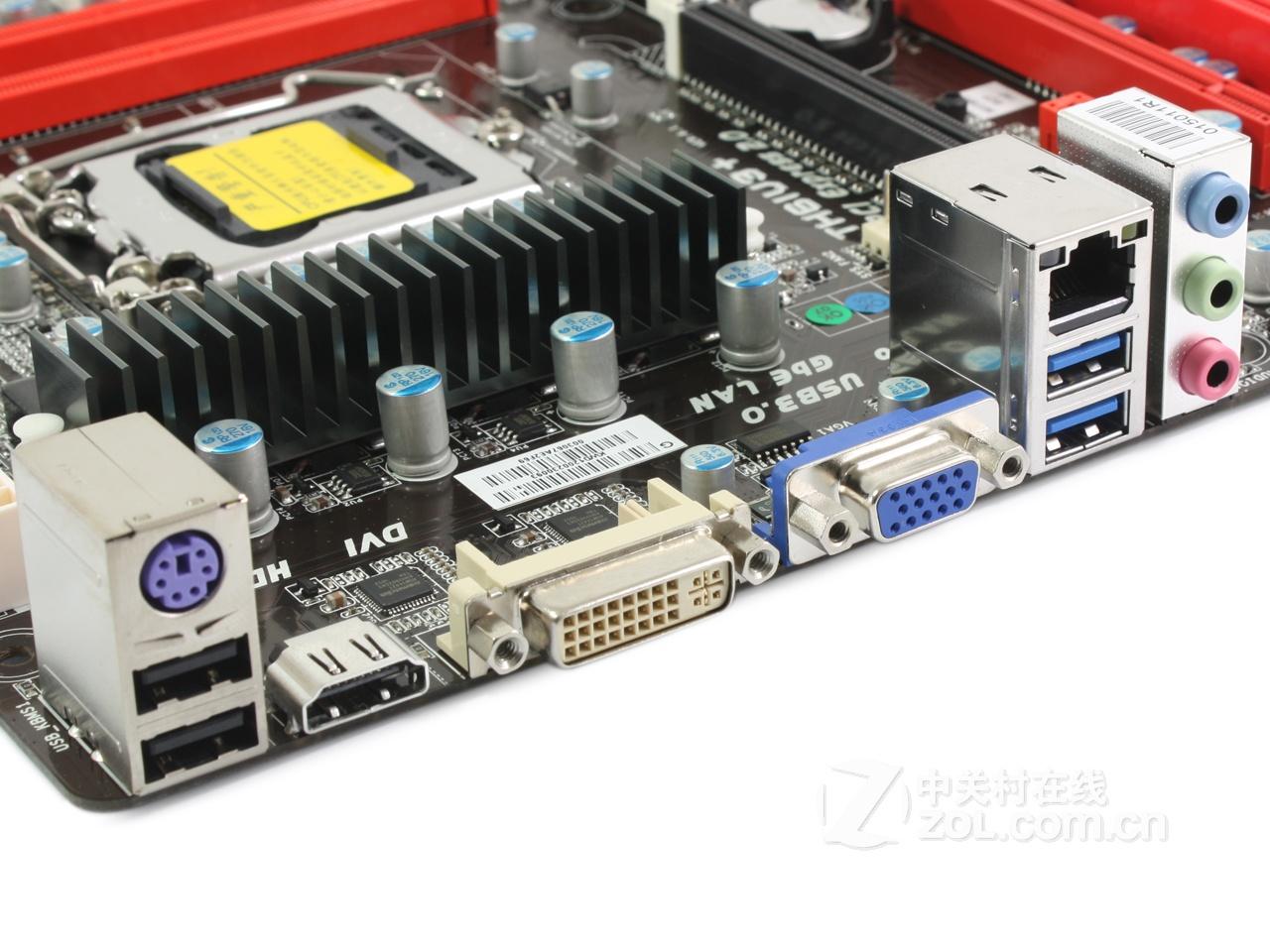 """映泰th61u3+还提供了许多""""主板之外的功能"""""""