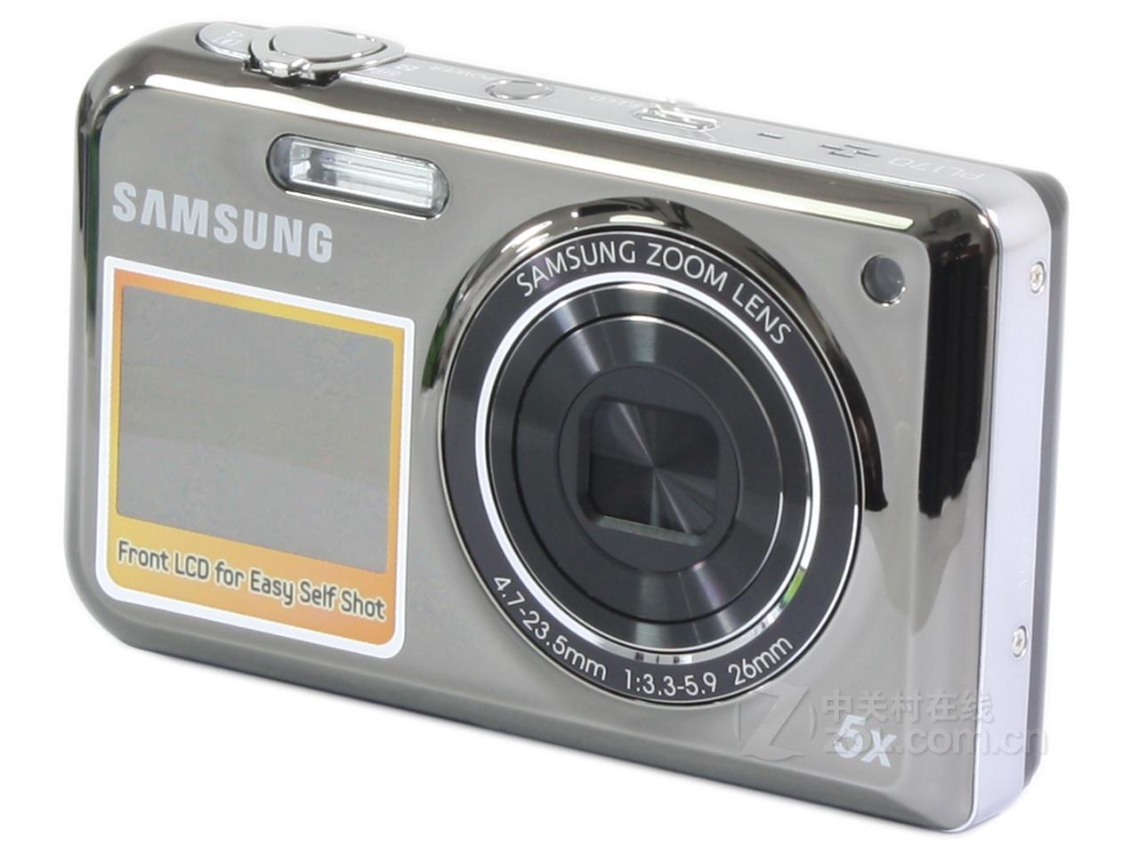 三星pl170 数码相机 正品 双屏照相机 1600万 5倍变焦