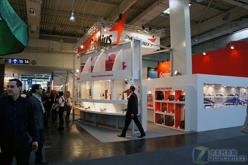 精灵个性数码产品集体亮相CeBIT2011