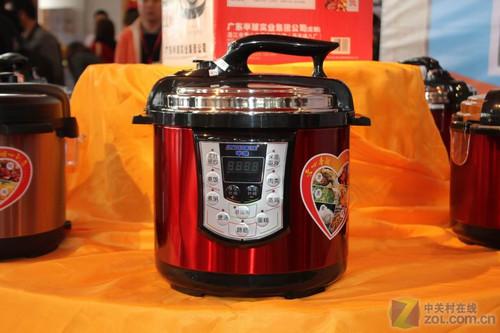 半球电压力锅产品