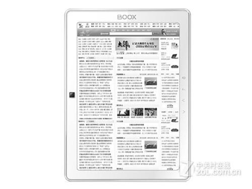 大屏3G电纸书 Onyx BOOX M90售2250元