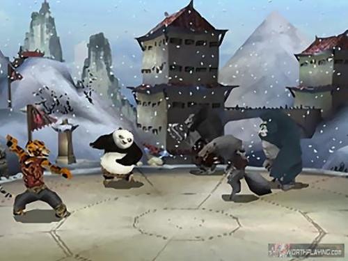 功夫熊猫2 游戏宣布 多平台截图