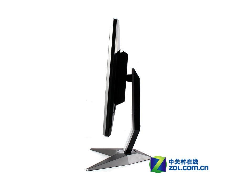 长城3d显示器z2599的侧面