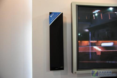 PALM2011:KEF展示超小尺寸5.1音箱系统