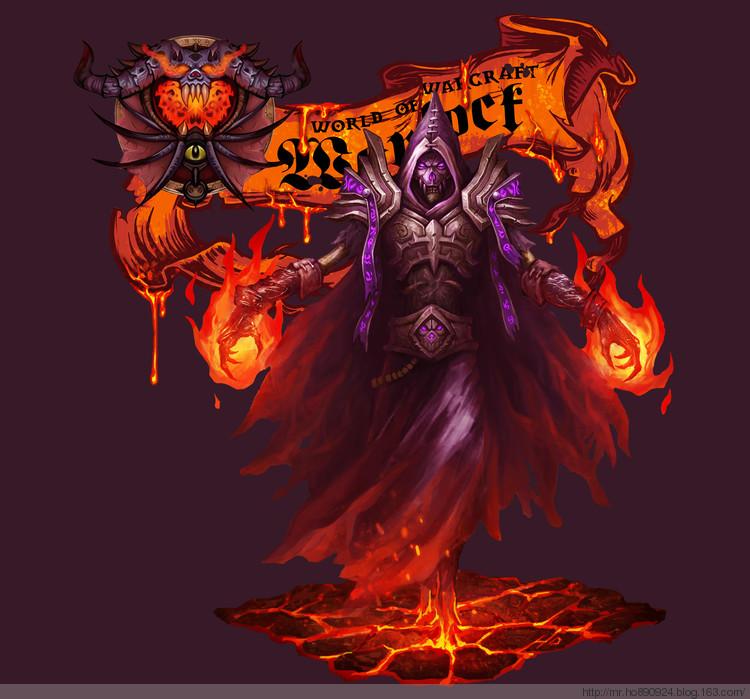 《魔兽世界:大灾变》t10套装手绘图