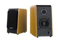 麦博 Microlab B77 2.0声道 多媒体书架有源音箱 音响麦博