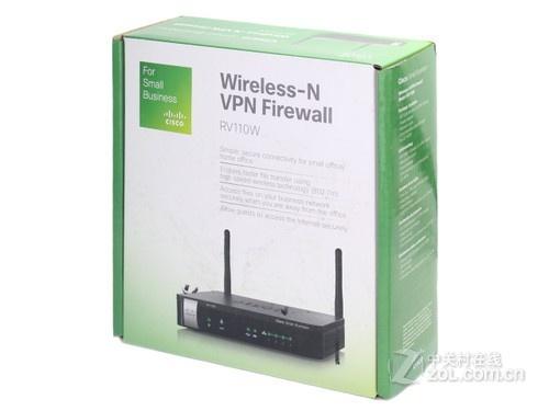 中小企业首选 思科RV110W无线路由首测