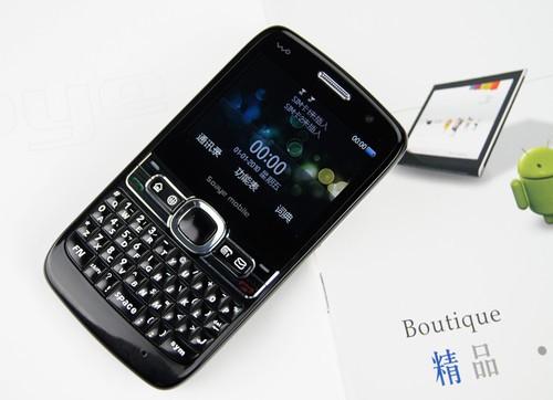 视频通话全键盘双模双待3G手机限时4折团购