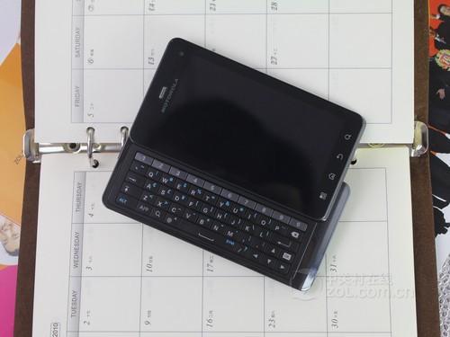 摩托罗拉 XT883 黑色 外观图
