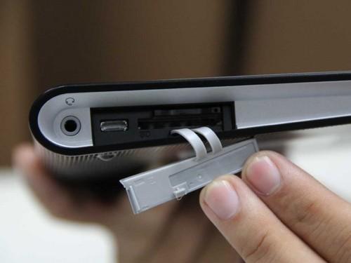 书卷式设计 索尼旗下首款平板电脑图赏