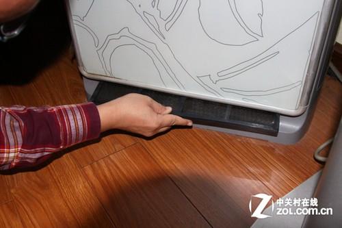 海尔立式空调过滤网清洗图解