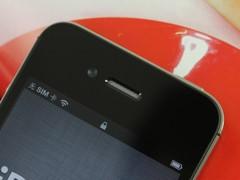 iPhone 4S 黑色 听筒图
