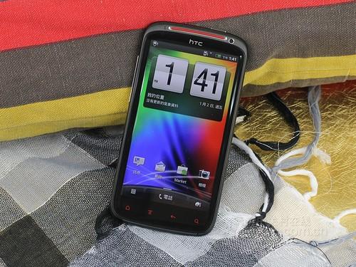 HTC 灵感XE 黑色 外观图