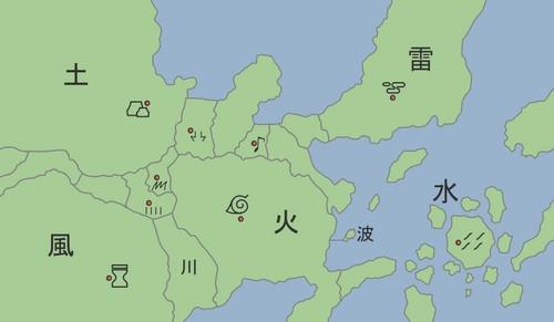 火影忍者地图