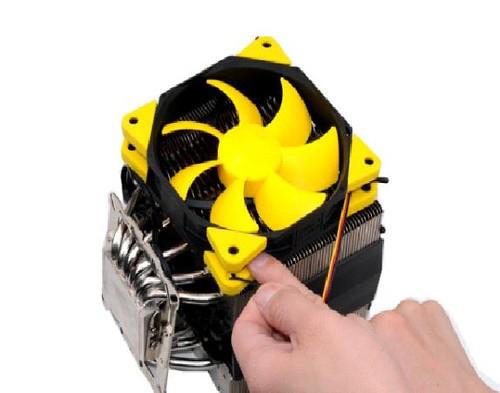 双重减震扼杀噪音超频三清风风扇赏析