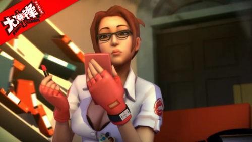 《大冲锋》美女狙击手办公室的那点事