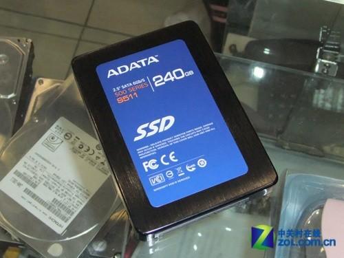 威刚S511 240GB固态硬盘外观-SATA3极速狂飙 6款256G固态硬盘推荐