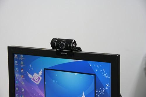 蓝色妖姬M2200摄像头实拍效果